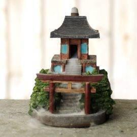 Porte Encens Cascade Temple Japonais Porte encens Porte Encens Cascade Porte Encens Design