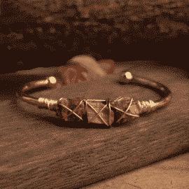 Bracelet œil-de-tigre infini