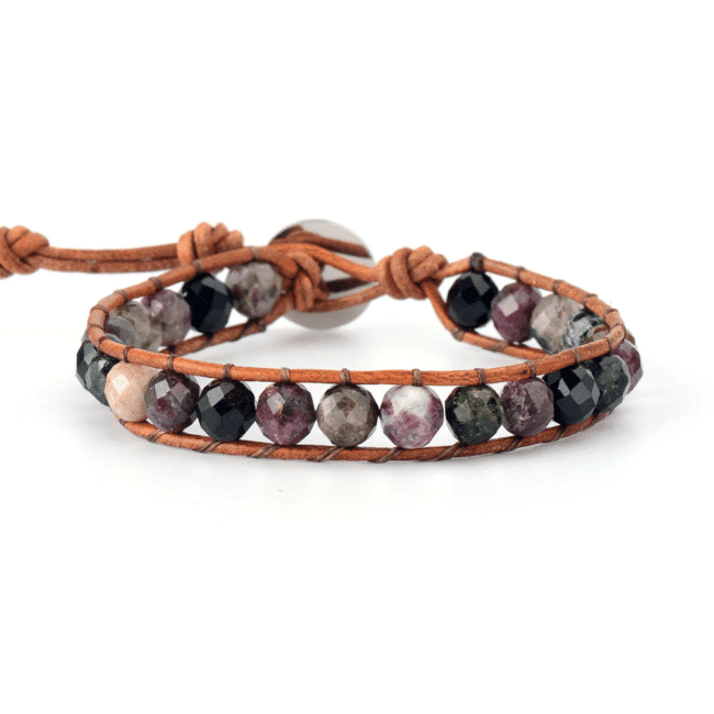 Bracelet en pierre de tourmaline https://www.chakras-shop.com