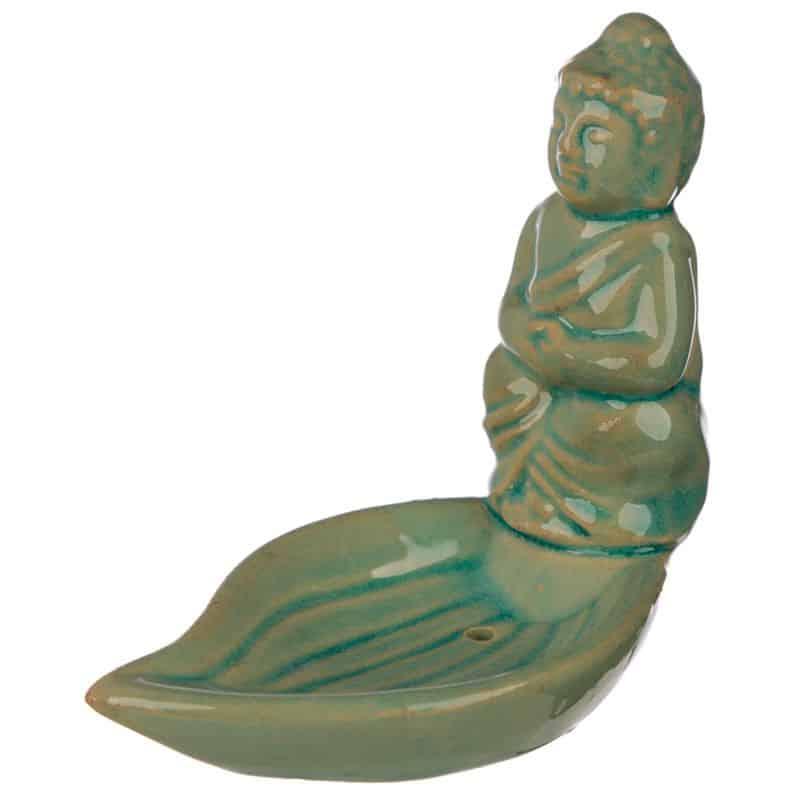 Porte Encens Bouddha Bleu Ciel Porte encens Porte Encens Bouddha Porte Encens Céramique