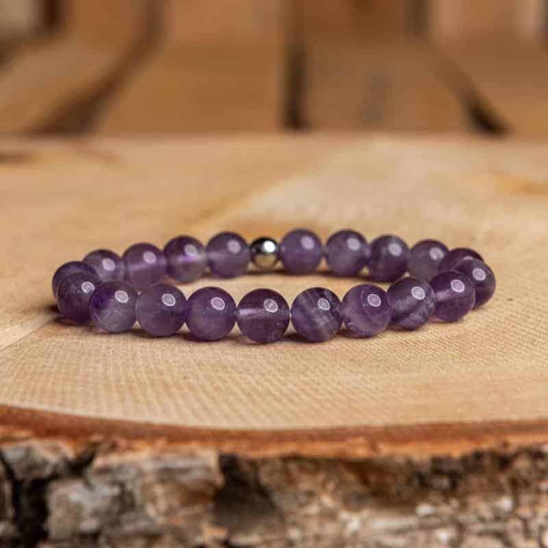 Bracelet Améthyste Bijoux pierre naturelle Bracelet pierre naturelle