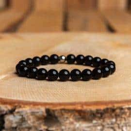 Bracelet Tourmaline Noire Bijoux homme en pierre naturelle Bijoux pierre naturelle Bracelet pierre naturelle