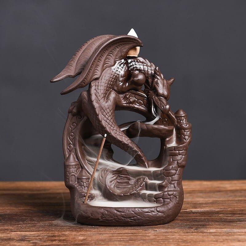 Porte encens dragon Protecteur du temps https://www.chakras-shop.com