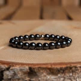 Bracelet Artisanal en Hématite https://www.chakras-shop.com