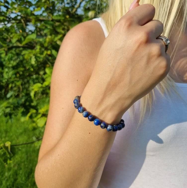 Bracelet Artisanal en Lapis Lazuli