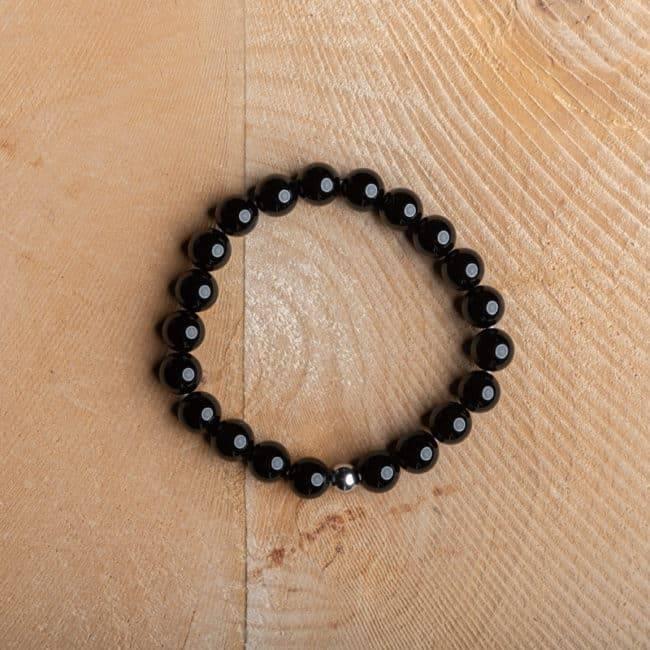 Bracelet Artisanal en Obsidienne