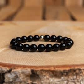 Bracelet Artisanal en Obsidienne https://www.chakras-shop.com