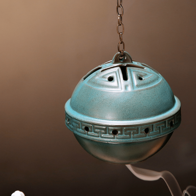 Porte encens bouddha zen