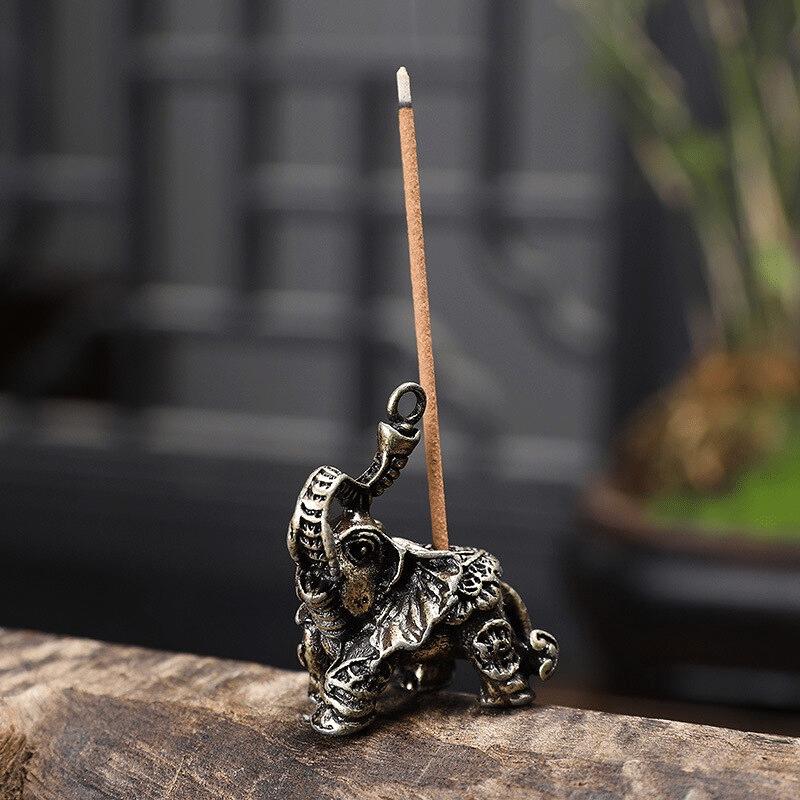 Brûleur d'encens Ganesh argenté https://www.chakras-shop.com