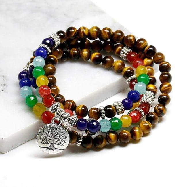 Bracelet 7 chakras homme Bijoux en pierre naturelle Bijoux homme en pierre naturelle Bracelet en pierre naturelle Bracelets 7 chakras