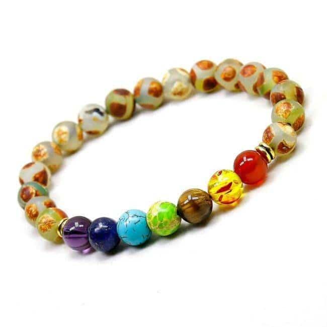 """Bracelet 7 Chakras """"Équilibre"""""""