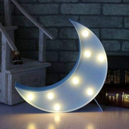 "Lampe Lune ""Nuit bleue"""