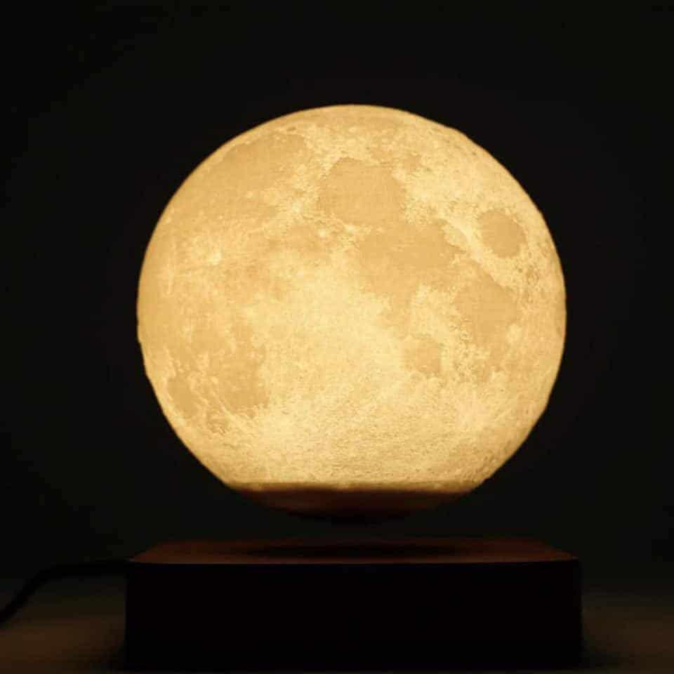 Lampe lune lévitation Lampe Lune Objet deco zen