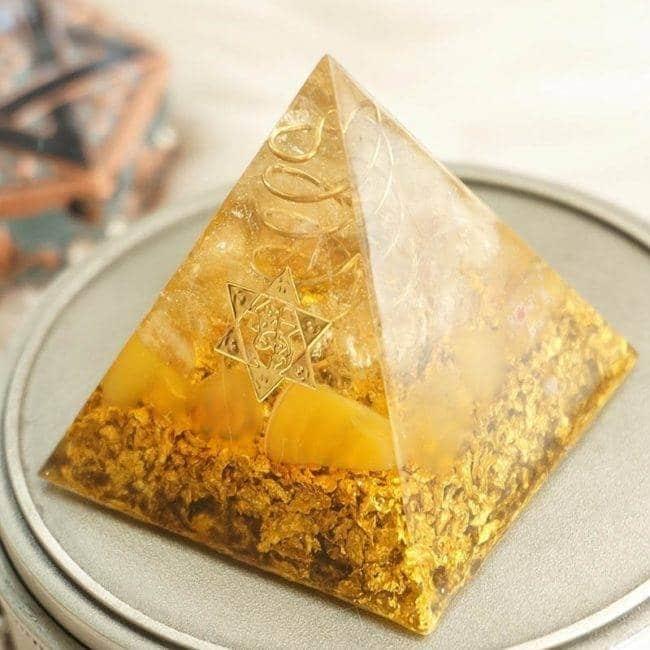 Orgonite Pyramide «Citrine» Orgonite