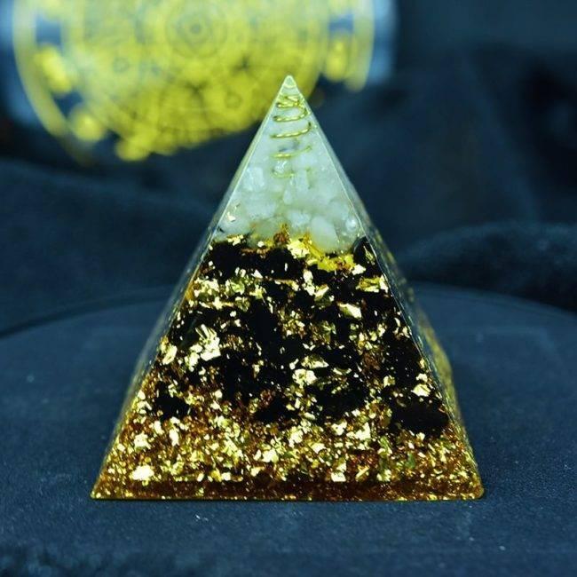 Orgonite en obsidienne Orgonite