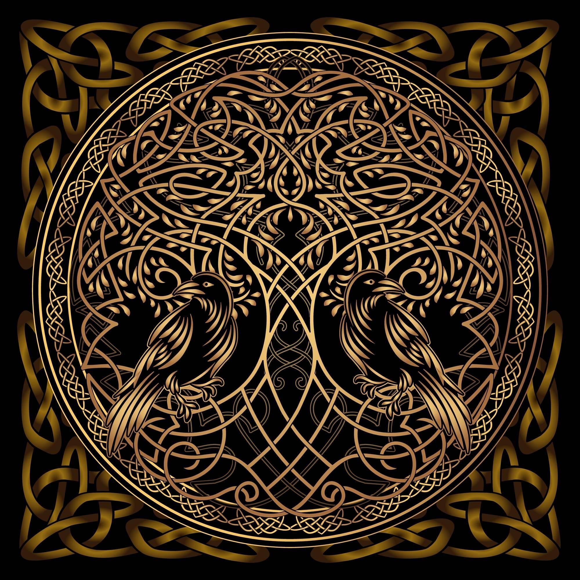 Orgonite arbre de vie doré