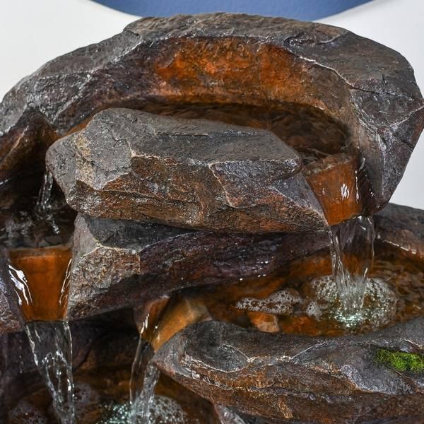 Fontaine cascade naturelle Fontaine zen Deco zen