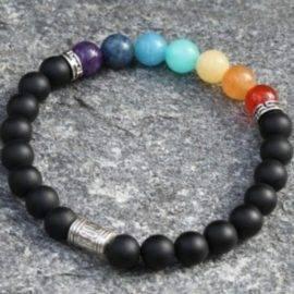 Bracelet 7 chakras authentique