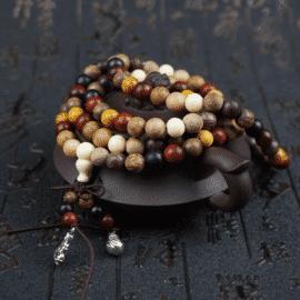 Bracelet Bouddhiste Porte Chance Noué à la Main Bracelet porte bonheur