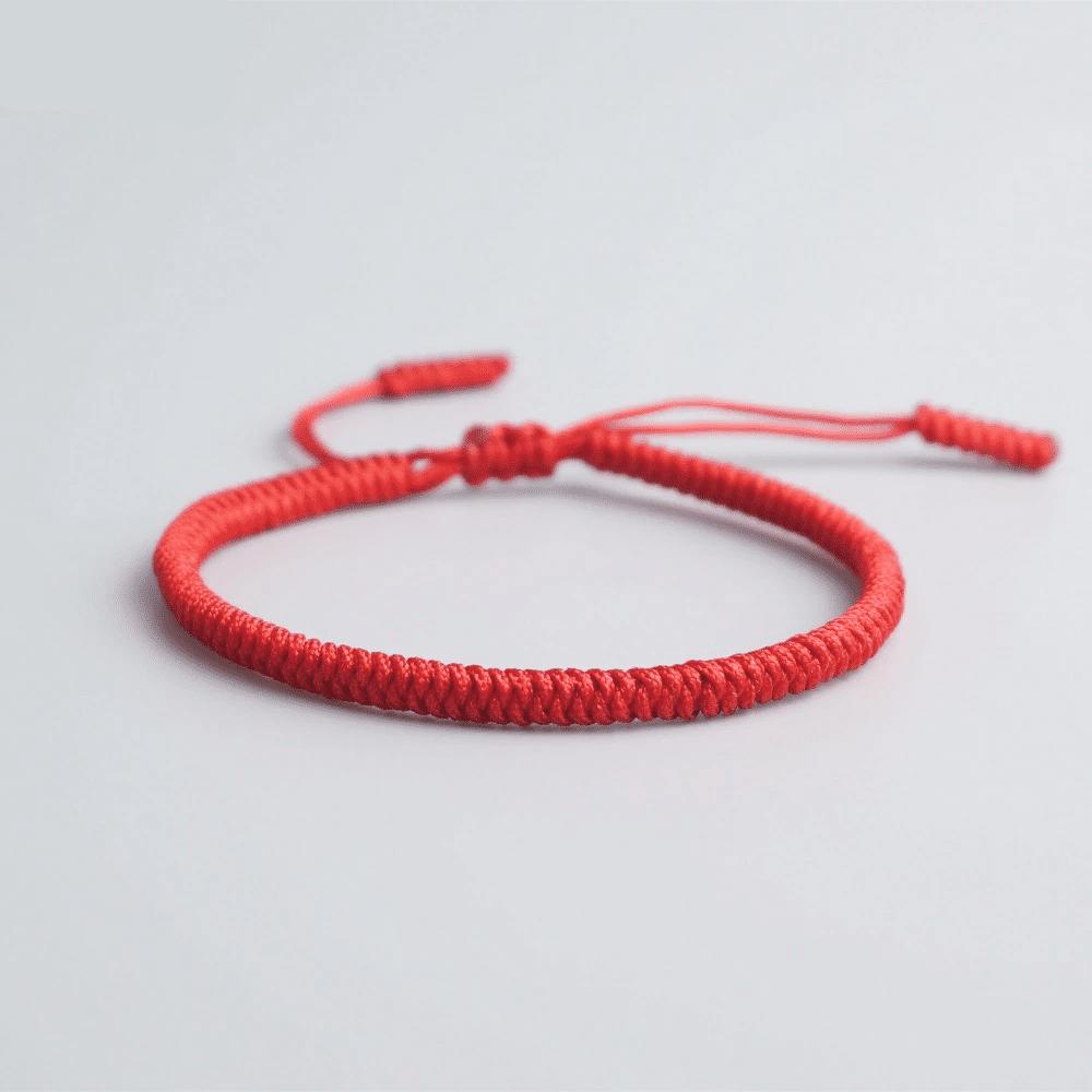 Bracelet Cordon Rouge Porte Bonheur Bracelet porte bonheur