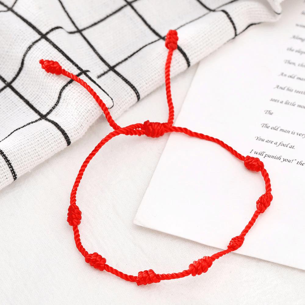 Bracelet Fil Rouge Porte Bonheur Bracelet porte bonheur