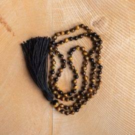 Collier Oeil De Tigre Protection Bijoux pierre naturelle Collier pierre naturelle