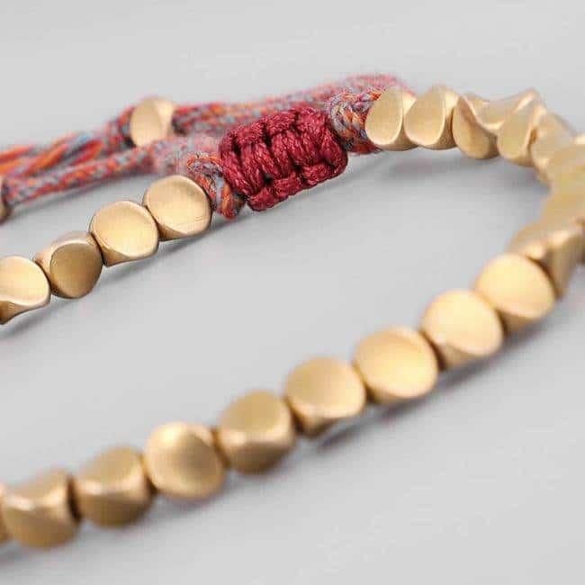 Bracelet Bouddhiste Porte Bonheur Bracelet porte bonheur