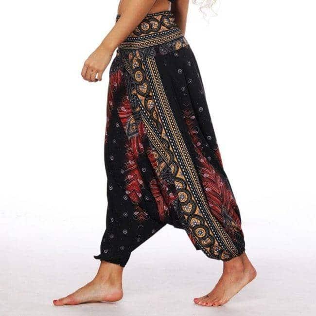 Pantalon Sarouel Noir Taille Unique Pantalon Sarouel Color: 1