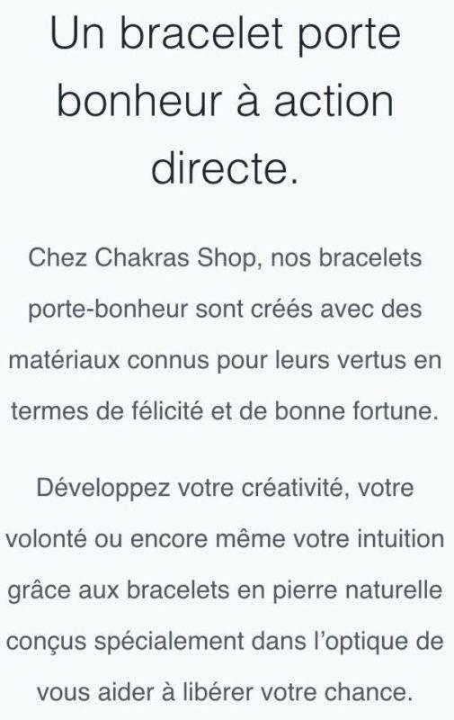 Chakras Shop