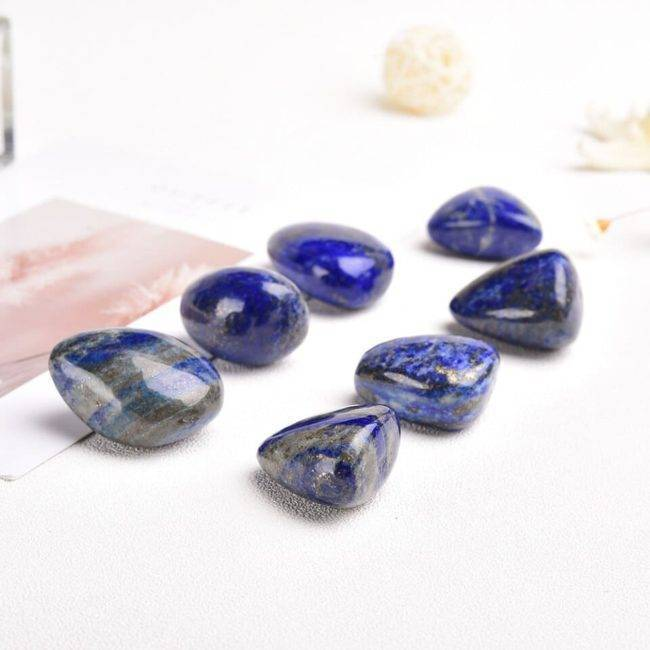 Galet de Lapis-Lazuli Pierre De Protection